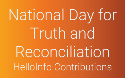 HelloInfo: Actions we are taking to contribute to Indigenous truth and reconciliation